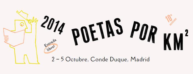 Poetas por Km²